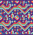 abstract background seamless pattern design vector image