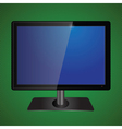 blue tv screen vector image vector image