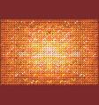 brilliant brown pop art background vector image