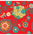 Garden floral seamless vector | Price: 1 Credit (USD $1)
