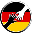 help in germany vector image