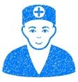 Medic Grainy Texture Icon vector image