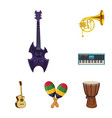 music and tune icon vector image