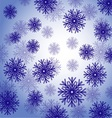 Snowflakes background 01 vector image