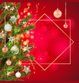background tree decorations vector image