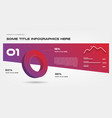 concept gradient infographics with arrows vector image