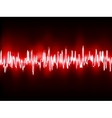 Electronic sine sound or audio waves EPS 10 vector image vector image