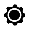 gear setting isolated icon vector image vector image