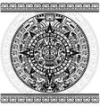 Mayan calendar vector image vector image
