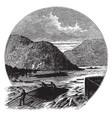 rafting vintage vector image vector image