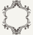 Antique Vintage Royal Frame vector image vector image