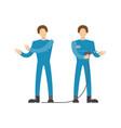 auto mechanics in uniform icon vector image
