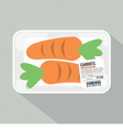 Carrots Pack vector image vector image