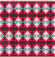 red mosaic seamless pattern vector image vector image