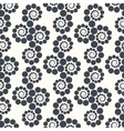 Seamless geometric pattern dots around Can be vector image