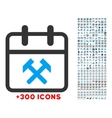Working Day Icon vector image