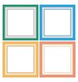 Frameworks in pastel colors vector image