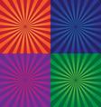 colorful background design elements vector image