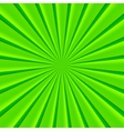 Green abstract rays circle background vector image vector image