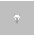Lamp computer symbol vector image