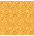 orange abstract repeating diagonal square mosaic vector image vector image