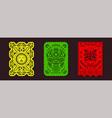 papel picado garlands mexican fiesta decorations vector image vector image