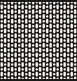seamless pattern black perforated surface vector image vector image