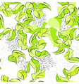 seamless walpaper with green leaves