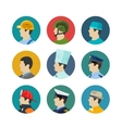 Set of profession icons vector image vector image