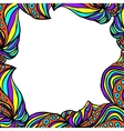 Bright abstract frame vector image vector image
