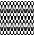 monochrome seamless pattern simple wavy lines vector image vector image
