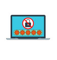 password security icon vector image