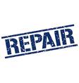 repair stamp vector image vector image