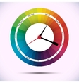 time for design concept clock vector image vector image