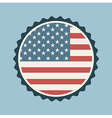 Usa stamp vector image
