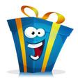 birthday gift character vector image vector image