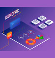 education idea credit card and check investment vector image