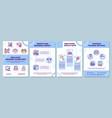 employee training guidelines brochure template vector image vector image