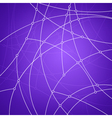 Geometric patterncurves and nodes vector image vector image