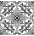 greek floral intricate meanders seamless pattern vector image vector image