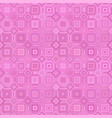 pink abstract repeating diagonal square tile vector image vector image