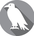 Raven Bird Icon vector image
