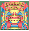 Ribbons Labels Banners vector image vector image