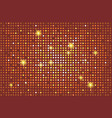 shining brown background with light flares vector image vector image