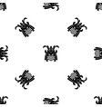 tribal helmet pattern seamless black vector image vector image