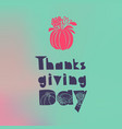 vegetables thanksgiving concept background simple vector image
