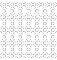 abstract hexagon pattern white background i vector image