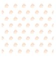 cute rabbit seamless pattern vector image vector image