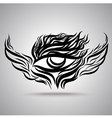 Eye Wing Hand Drawing vector image vector image