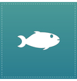 Fish icon on background
